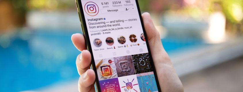 marka na Instagramie